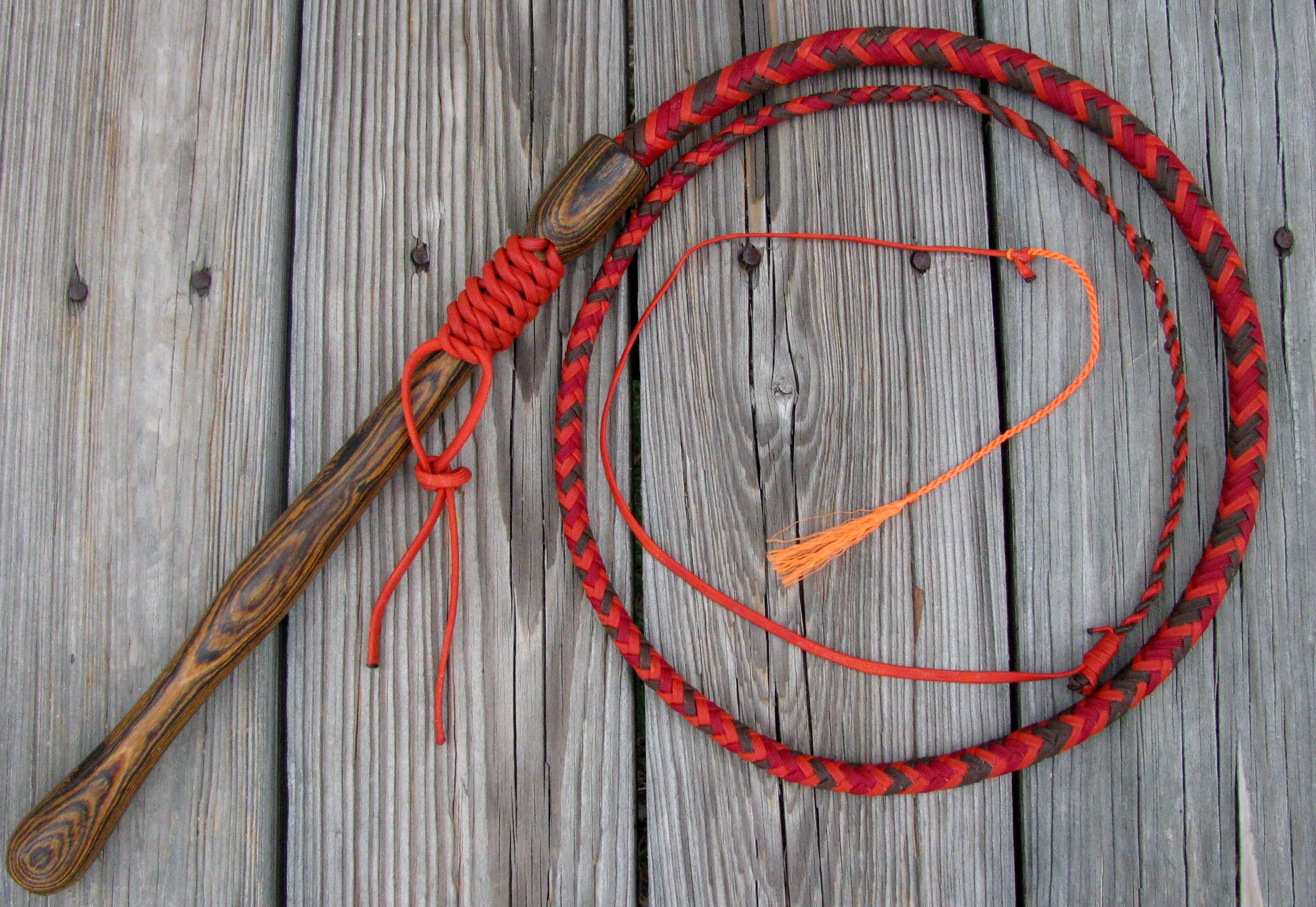 Dawn nylon bull whip